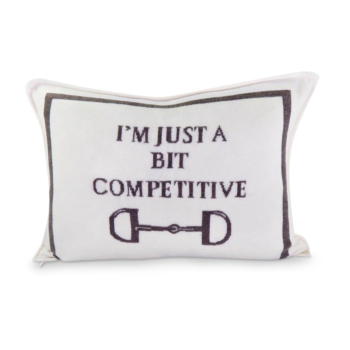 Luxe A Bit Competitive Lumbar Pillow Cover