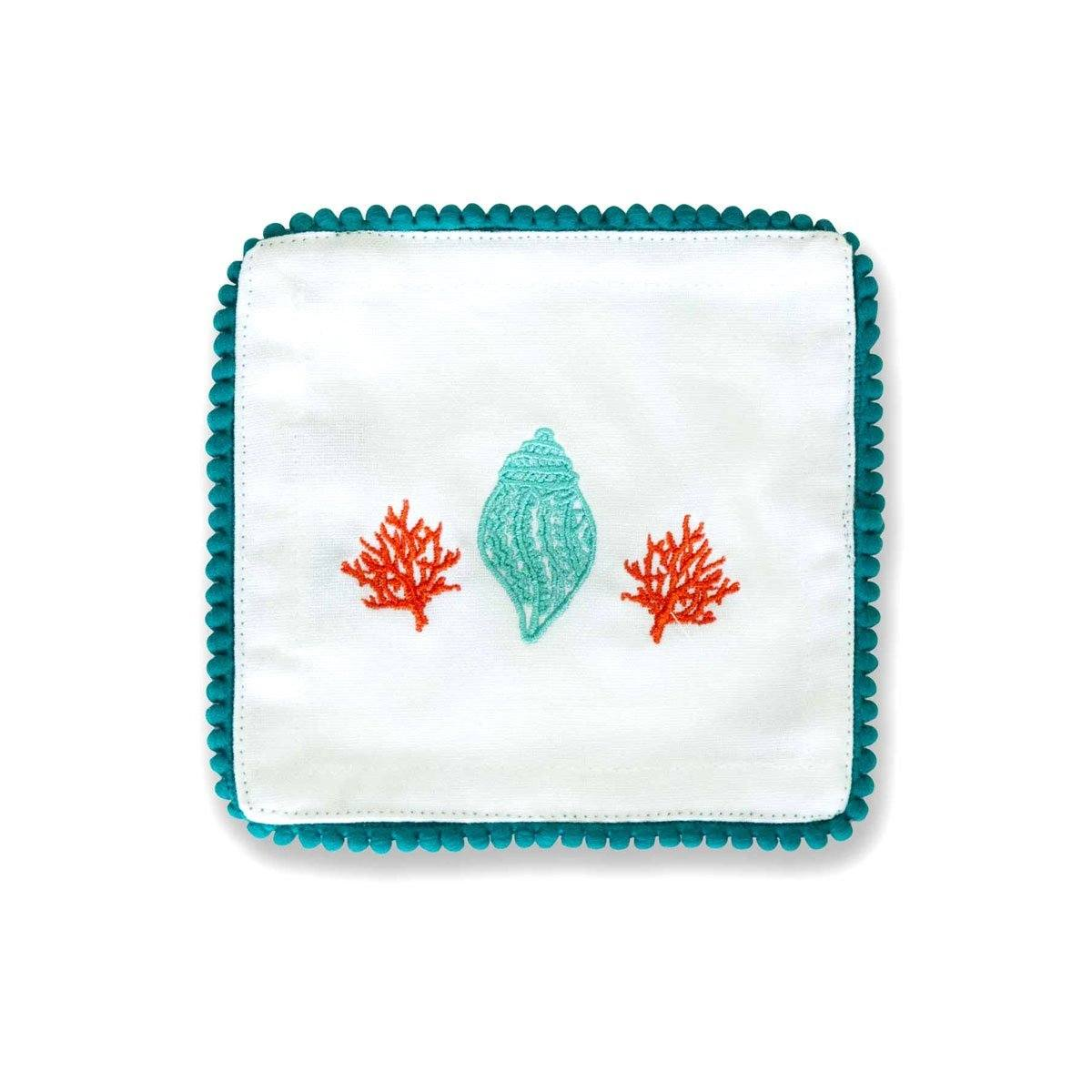 Lyford Embroidered Cocktail Napkins | Set of 6