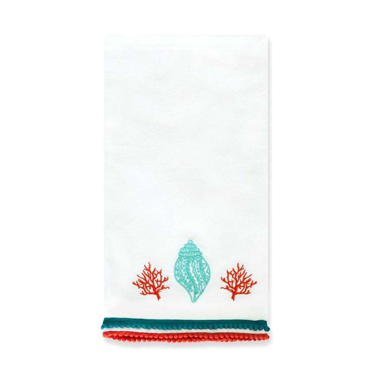 Lyford Embroidered Hand Towel | Set of 2