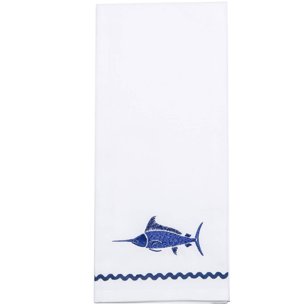 Sail Fish Fingertip Towel (Set of 2)