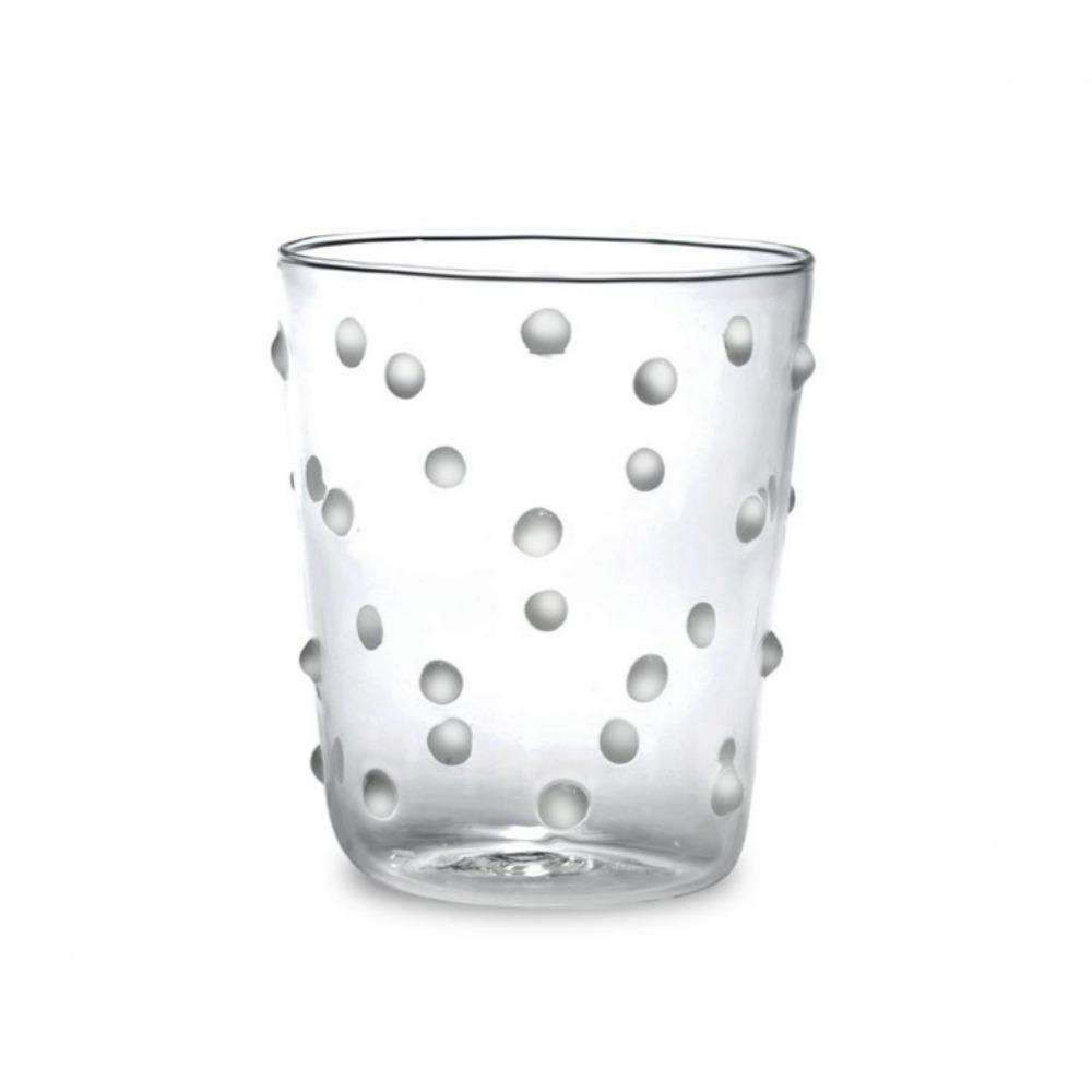 Party Dot Everyday Glass-White