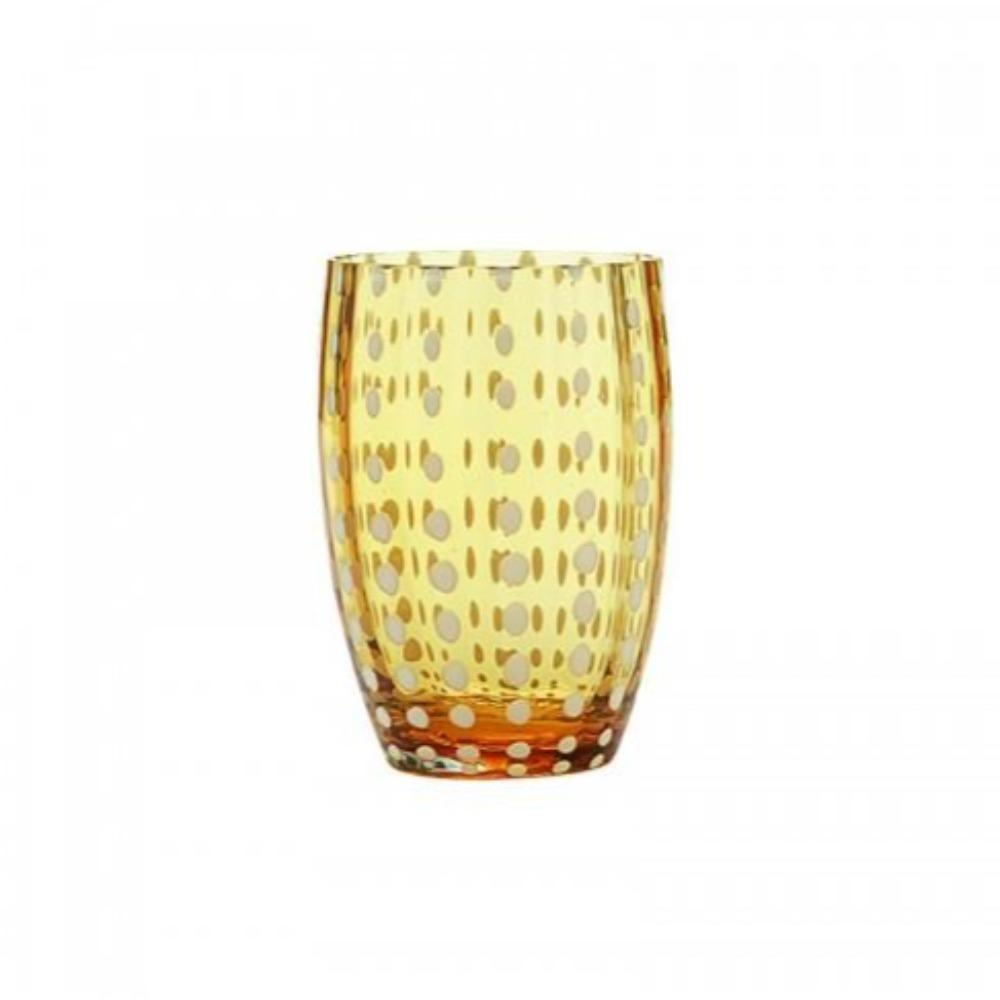 Dapple Glass Tumbler Marigold | set/2