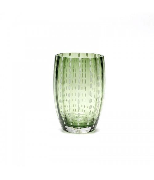 Dapple Glass Tumbler Fern | set/2