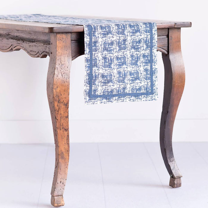 Tonga Indigo Table Runner