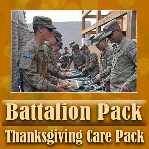 Thanksgiving Battalion Pack Serve 16-32 Troops