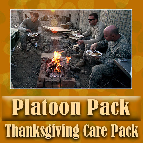 Thanksgiving Platoon Pack Serve 4-8 Troops