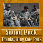 Thanksgiving Squad Pack Serves 2-4 Troops