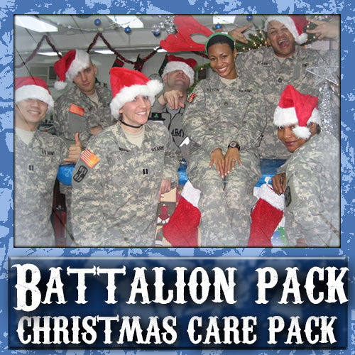Christmas Battalion Care Pack	Serve 16-32 Troops