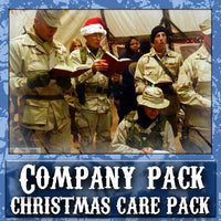 Christmas Company Care Pack	Serves 8-16 Troops