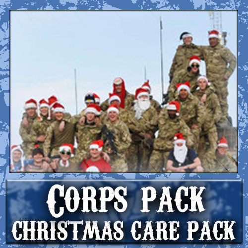 Christmas Corps Care Pack	Serves 40-80 Troops
