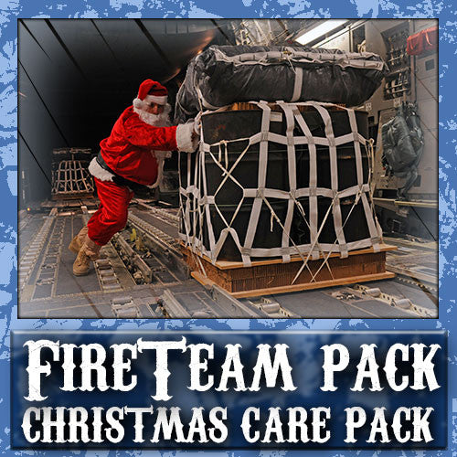 Christmas Fire Team Care Pack	Serves 1-2 Troops