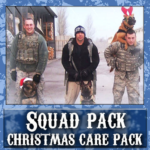 Christmas Squad Care Pack	Serves 2-4 Troops
