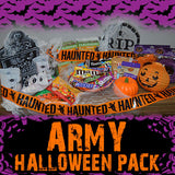 Halloween Troop Army Care Pack	Serves 100-200 Troops