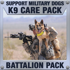Monthly Smiles - Recurring - K9 Battalion Care Pack	Serve 16-32 K9 Handlers