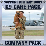 Monthly Smiles - Recurring - K9 Company Care Pack	Serves 8-16 K9 Handlers