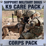 Monthly Smiles - Recurring - K9 Corps Care Pack	Serves 40-80 K9 Handlers