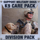 Monthly Smiles - Recurring - K9 Division Care Pack	Serves 32-64 K9 Handlers