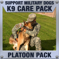 Monthly Smiles - Recurring - K9 Platoon Care Pack	Serve 4-8 K9 Handlers
