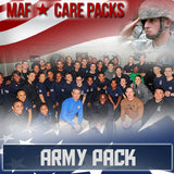 Monthly Smiles - Recurring - Army Care Pack	Serves 100-200 Troops