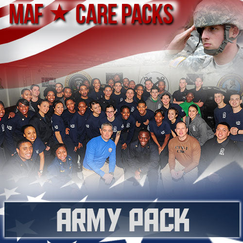 Troop Army Care Pack	Serves 100-200 Troops