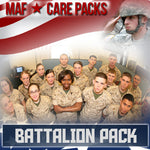 Troop Battalion Care Pack	Serve 16-32 Troops