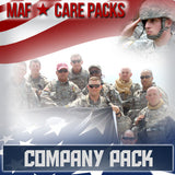 Troop Company Care Pack	Serves 8-16 Troops