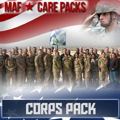 Monthly Smiles - Recurring - Corps Care Pack	Serves 40-80 Troops