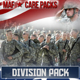 Monthly Smiles - Recurring - Division Care Pack	Serves 32-64 Troops