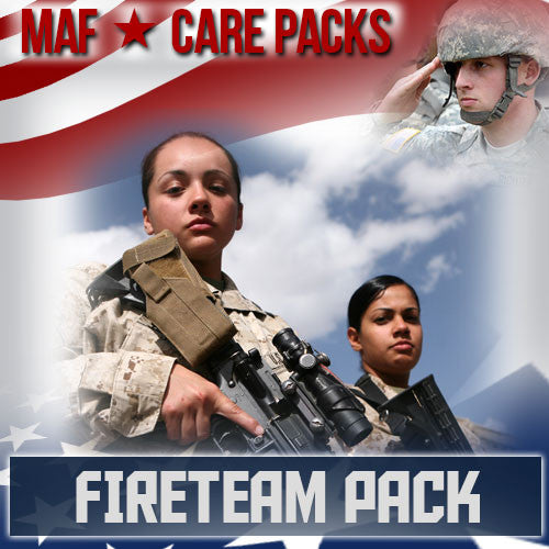 Monthly Smiles - Recurring - Fire Team Care Pack	Serves 1-2 Troops