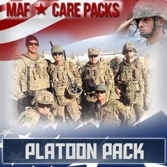Monthly Smiles - Recurring - Platoon Care Pack	Serve 4-8 Troops