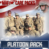 Monthly Smiles - Recurring - Platoon Care Pack 100	Serve 4-8 Troops