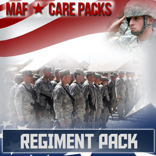 Troop Regiment Care Pack	Serves 24-48 Troops
