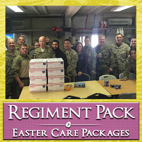 Easter Troop Regiment Care Pack	Serves 24-48 Troops
