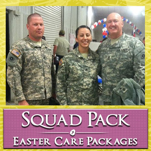 Easter Troop Squad Care Pack	Serves 2-4 Troops