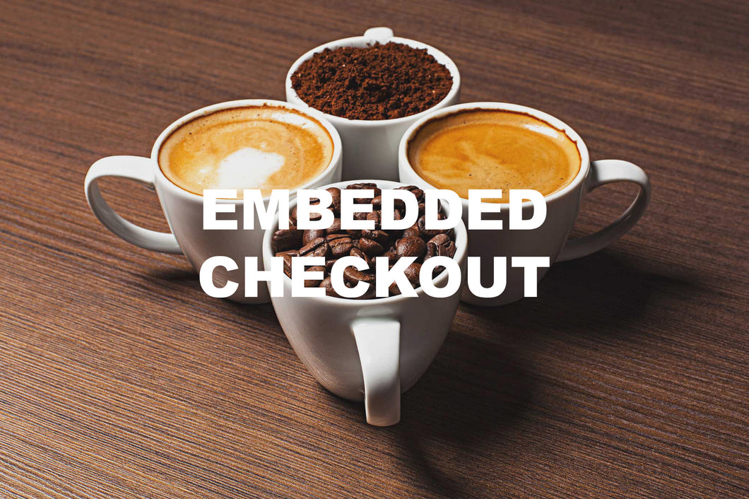 EMBEDDED Demo Coffee Subscription PayWhirl+Shopify (2016 Version)