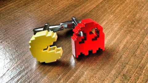 Video Game Addict Pac-Man Cufflinks