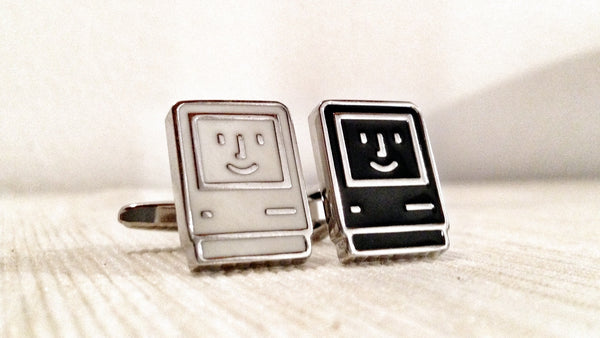 Happy Computer Geek Cufflinks