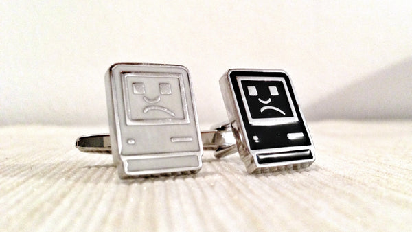 Sad Computer Geek Cufflinks