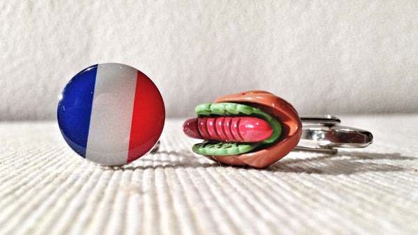 French Gastronomy Cufflinks