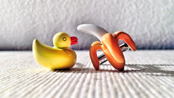 Playtime Banana & Ducky Cufflinks