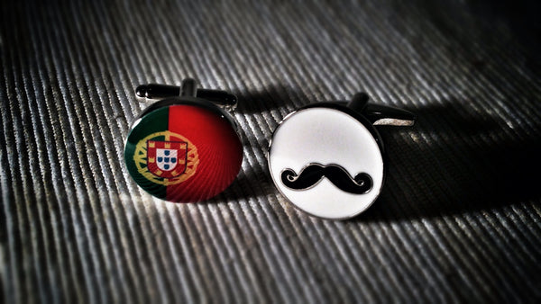 Portuguese Stereotype Cufflinks