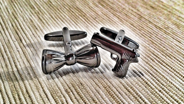 Blow Your Bow Cufflinks