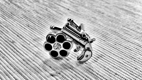 Six-Shooter Cufflinks