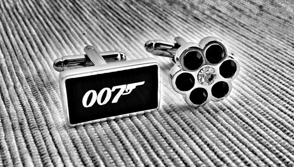 Double Zero or Double Zero Seven Cufflinks