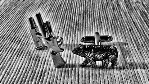 The Right to Bear Arms Cufflinks