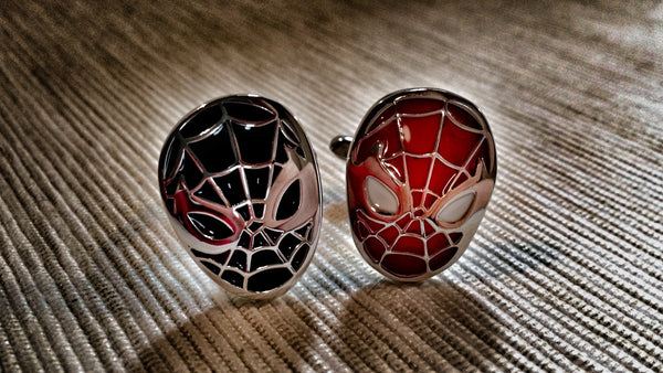 Spider Men Cufflinks