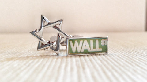 The Star of Wall Street Cufflinks