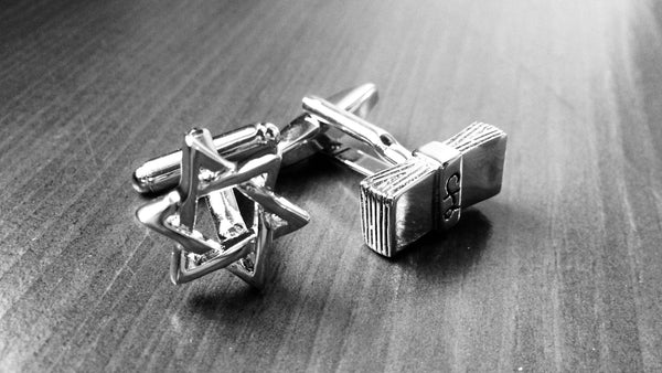 Proud to be a Jew Cufflinks
