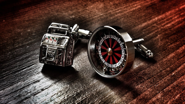 Casino Gambler Cufflinks