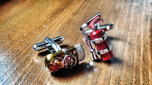 Time to Quit Smoking Cufflinks